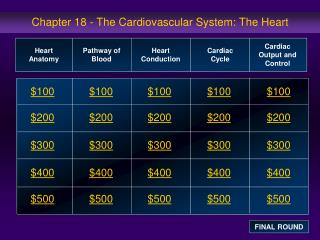 Chapter 18 - The Cardiovascular System: The Heart