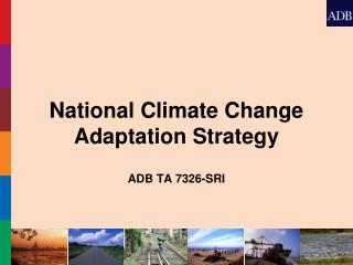 National Climate Change Adaptation Strategy