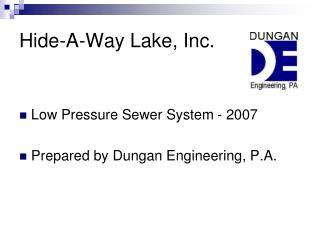 Hide-A-Way Lake, Inc.