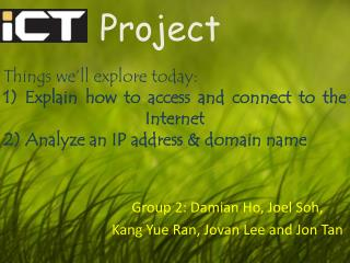 ICT   Project