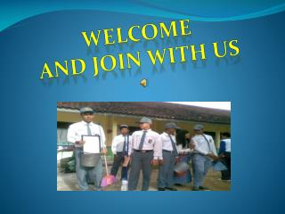 WELCOME AND JOIN WITH US