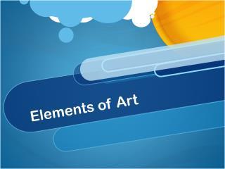 Elements of Art