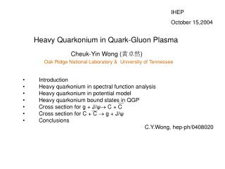 Heavy Quarkonium in Quark-Gluon Plasma