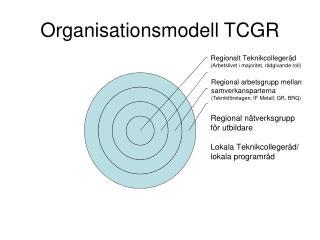 Organisationsmodell TCGR