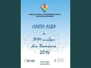 CONSILIUL NA ŢIONAL AL ÎNTREPRINDERILOR PRIVATE MICI ŞI MIJLOCII DIN ROMÂNIA