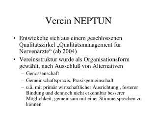 Verein NEPTUN