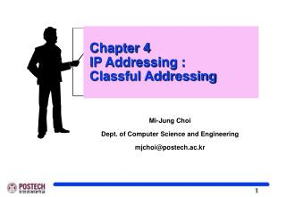 Chapter 4  IP Addressing :    Classful Addressing