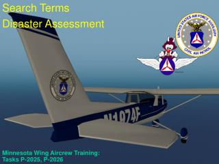 Minnesota Wing Aircrew Training:  Tasks P-2025, P-2026