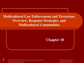 multicultural representation in law enforcement recruitment Creating a multicultural law enforcement agency: an intentional priority patrick oliver, phd, police chief (ret), director of criminal justice program, cedarville university, cedarville.