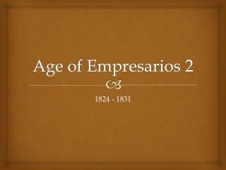 Age of  Empresarios  2