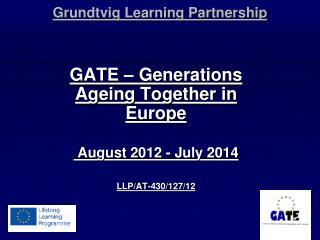 Grundtvig Learning Partnership