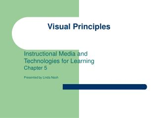 Visual Principles