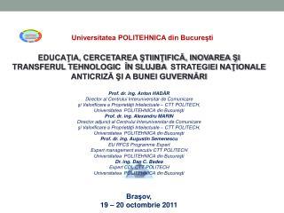 Universitatea POLITEHNICA din Bucureşti