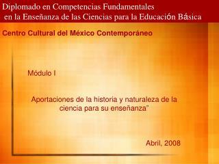 Diplomado en Competencias Fundamentales