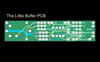 The Little Buffer PCB