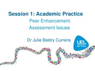 Session 1: Academic Practice