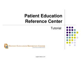 Patient Education Reference Center