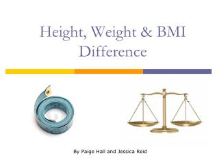 Height, Weight  BMI Difference