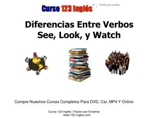 Diferencias Entre Verbos  See, Look, y Watch