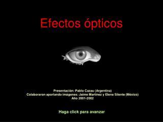 Efectos ópticos