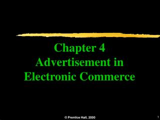 Chapter 4 Advertisement in Electronic Commerce