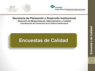 Secretaría de Planeación y Desarrollo Institucional
