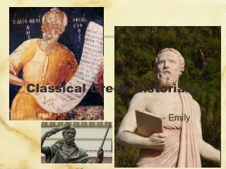 Classical Greek Historians