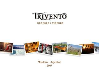 Mendoza – Argentina 2007