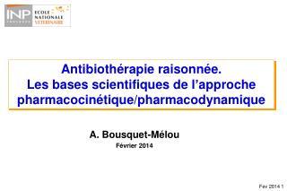 A. Bousquet-Mélou Février 2014