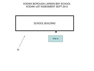 KODIAK BOROUGH LARSEN BAY SCHOOL KODIAK UST ASSESMENT SEPT 2012