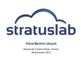 Virtual Machine Lifecycle