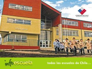 todas las escuelas de Chile…