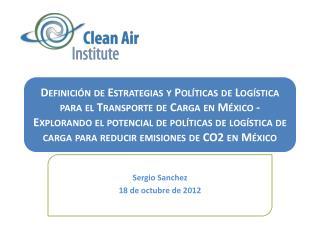 Sergio Sanchez 18 de  octubre  de 2012