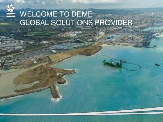 Welcome to deme global solutions provider