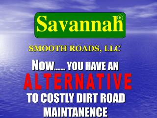 SMOOTH ROADS, LLC