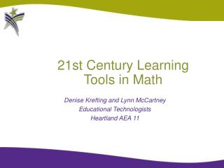 21st Century Learning Tools in Math