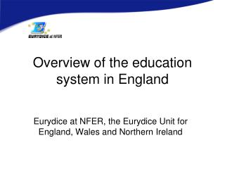 Overview of the education system in England