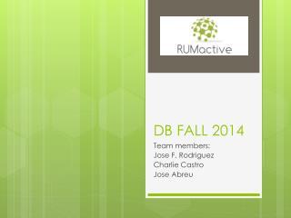 DB FALL 2014