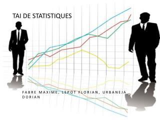 TAI de statistiques