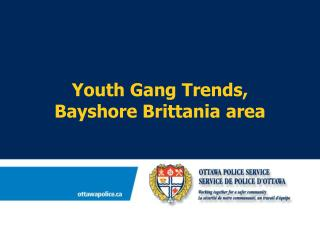 Youth Gang Trends,  Bayshore Brittania area