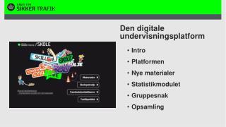 Den digitale undervisningsplatform