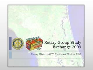 Rotary Group Study Exchange 2009