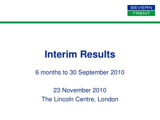 Interim Results