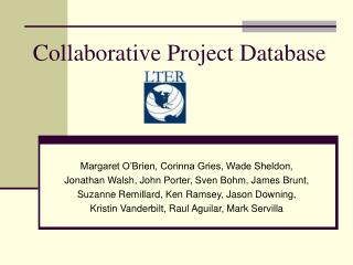 Collaborative Project Database