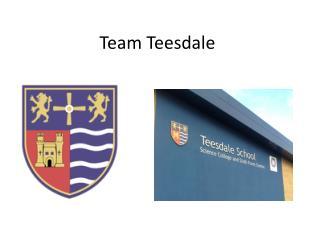 Team  Teesdale