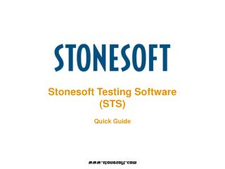 Stonesoft Testing Software (STS)