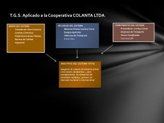T.G.S. Aplicado a la Cooperativa COLANTA LTDA .