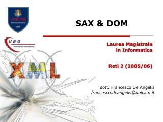 SAX & DOM