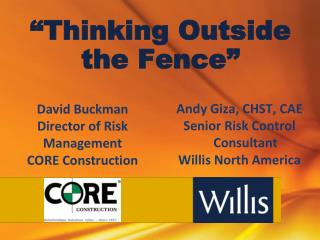 """Thinking Outside the Fence"""