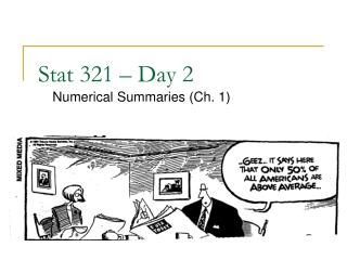 Graphical summaries for quantitative data